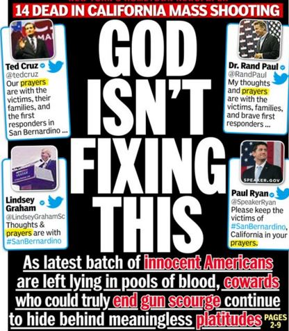 Another USA Mass-Shooting, … Where Is God?