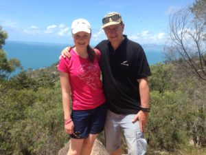 dad & daughter magnetic island