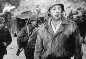 Robert Mitchum as General Cota, The Longest Day