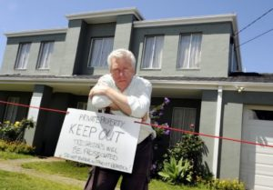Chris Field eviction from his home